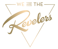 we are the REVELERS Logo Gold